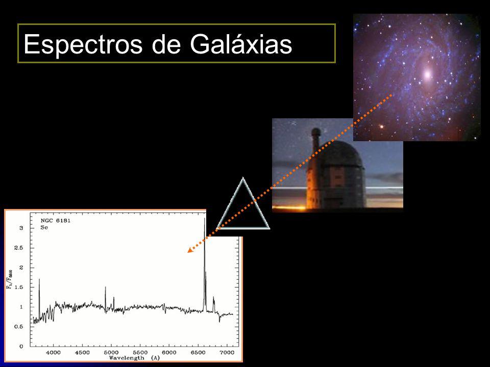 11 Espectros de Galáxias