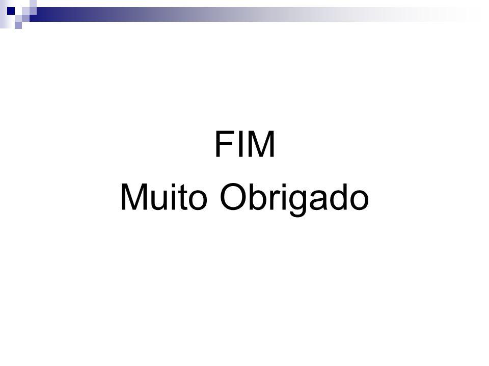FIM Muito Obrigado