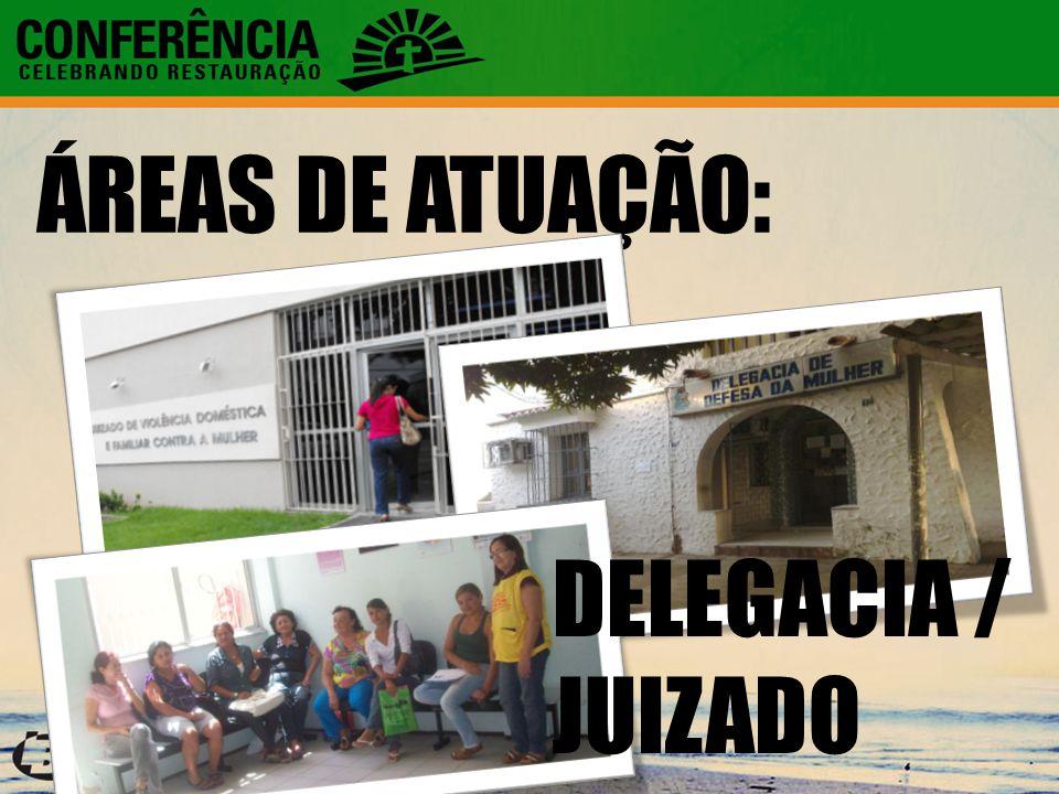 ÁREAS DE ATUAÇÃO: DELEGACIA / JUIZADO