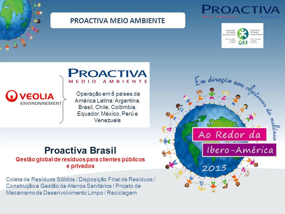 DESTINAÇÃO FINAL DE RESÍDUOS CGA IPERÓ A Central de Gerenciamento Ambiental recebe resíduos domésticos, não perigo- sos, de 6 municípios e cerca de 100 indús- trias.