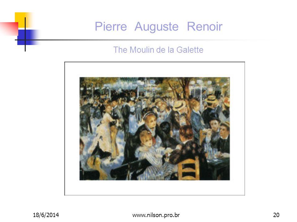 Pierre Auguste Renoir The Moulin de la Galette 18/6/201420www.nilson.pro.br
