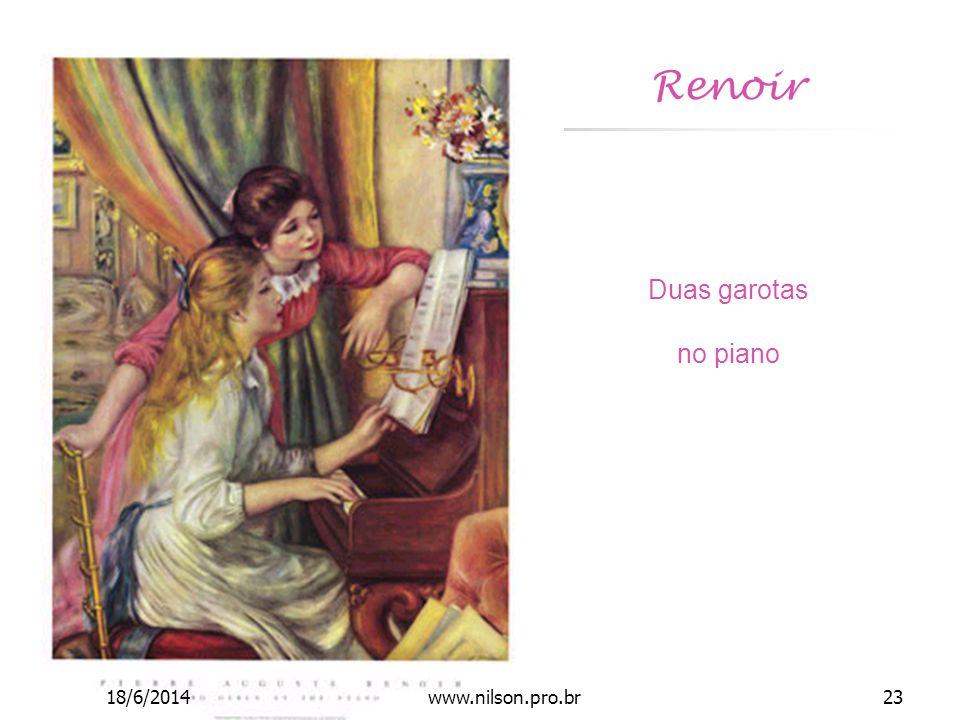Renoir Duas garotas no piano 18/6/201423www.nilson.pro.br