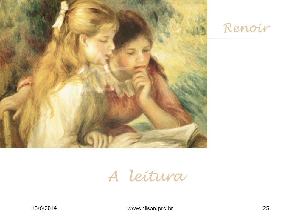 Renoir A leitura 18/6/201425www.nilson.pro.br