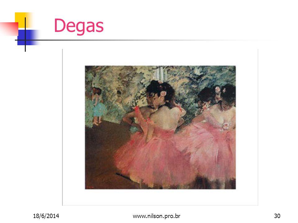 Degas 18/6/201430www.nilson.pro.br