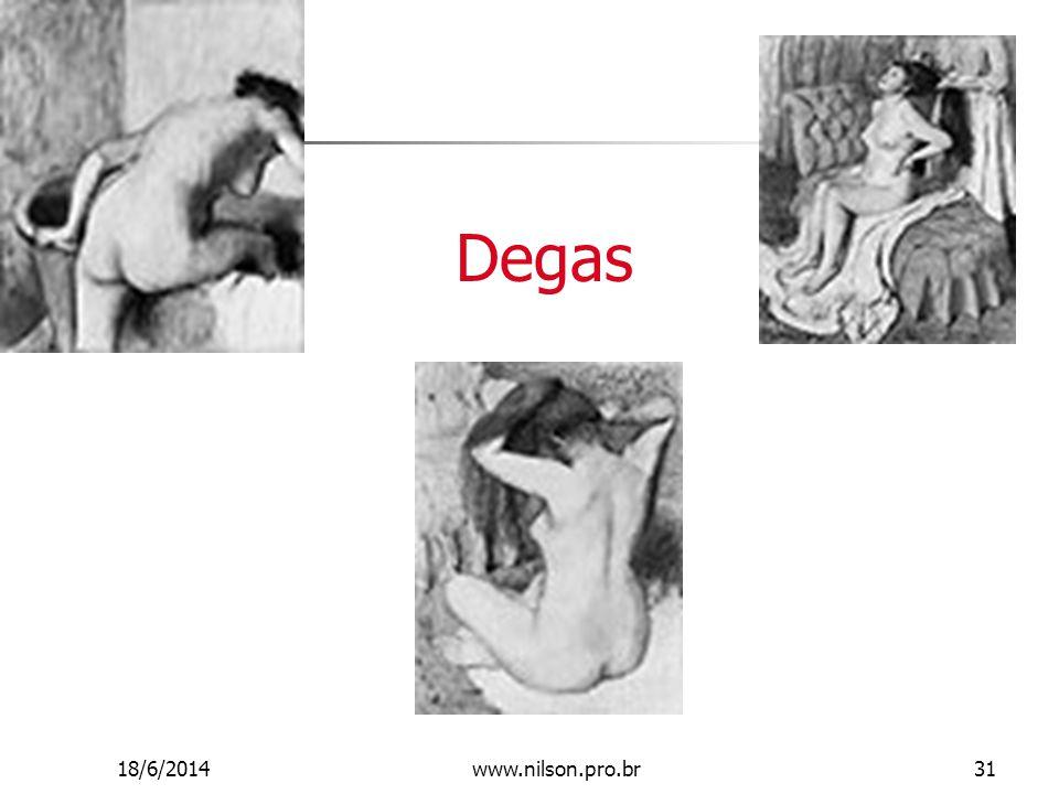 Degas 18/6/201431www.nilson.pro.br
