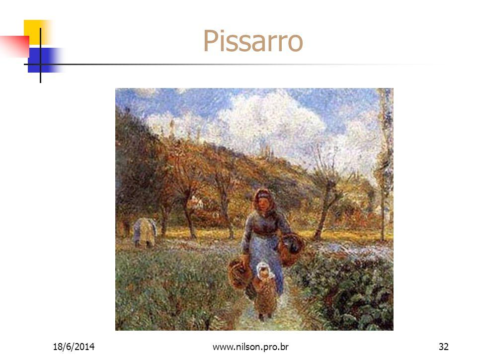 Pissarro 18/6/201432www.nilson.pro.br