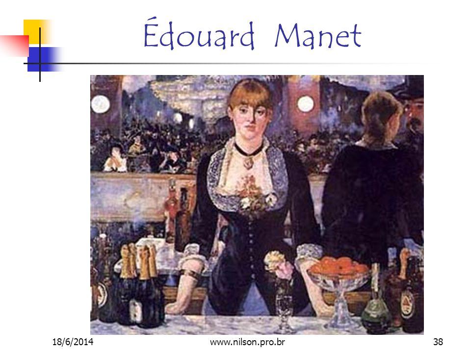 Édouard Manet 18/6/201438www.nilson.pro.br