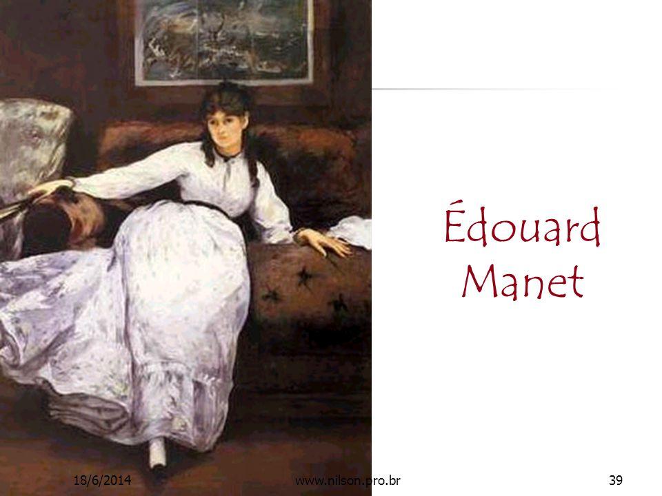 Édouard Manet 18/6/201439www.nilson.pro.br