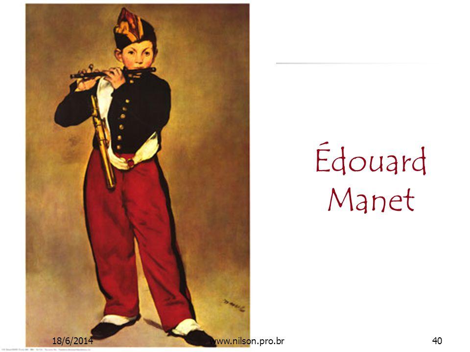 Édouard Manet 18/6/201440www.nilson.pro.br