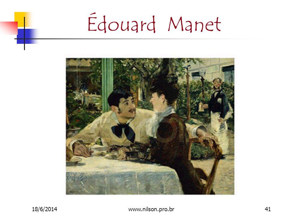 Édouard Manet 18/6/201441www.nilson.pro.br
