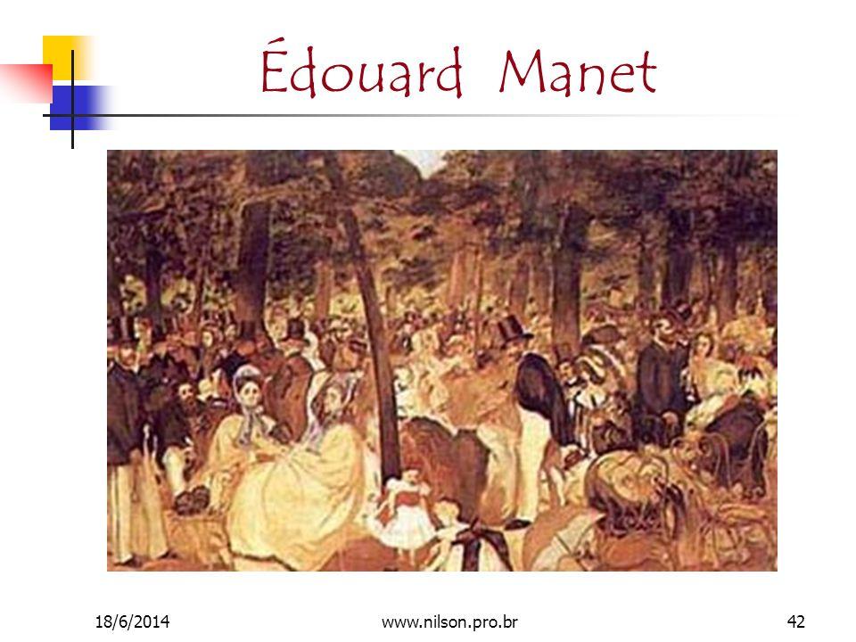 Édouard Manet 18/6/201442www.nilson.pro.br