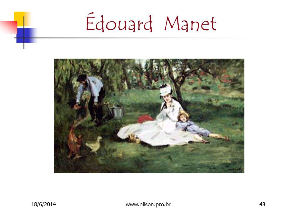 Édouard Manet 18/6/201443www.nilson.pro.br