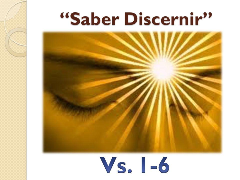 Saber Discernir