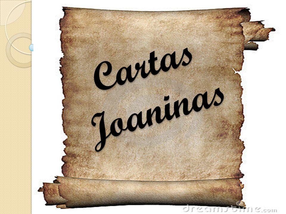 Cartas Joaninas Cartas Joaninas
