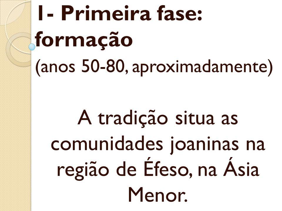 A segunda fase da história das comunidades joaninas é marcada por conflitos com grupos externos.