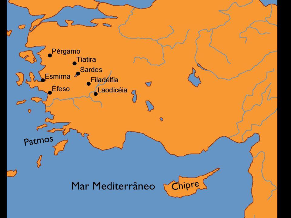 Mar Mediterrâneo Chipre Patmos