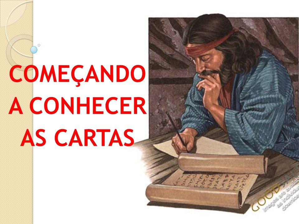 COMEÇANDO A CONHECER AS CARTAS