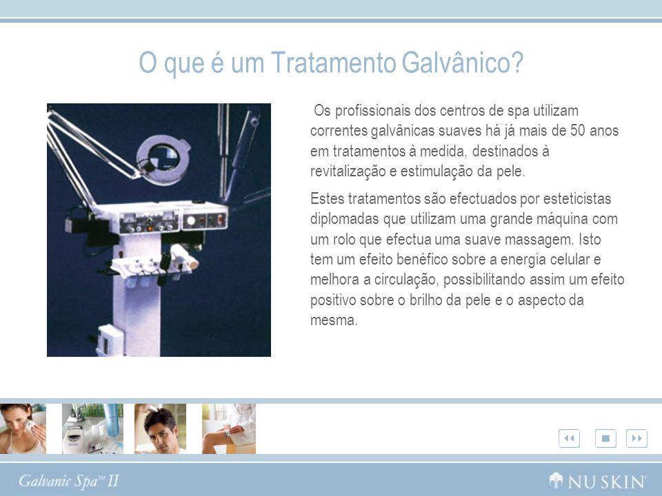 O que é um Tratamento Galvânico? Os profissionais dos centros de spa utilizam correntes galvânicas suaves há já mais de 50 anos em tratamentos à medid