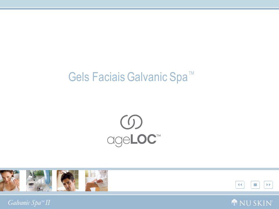Gels Faciais Galvanic Spa