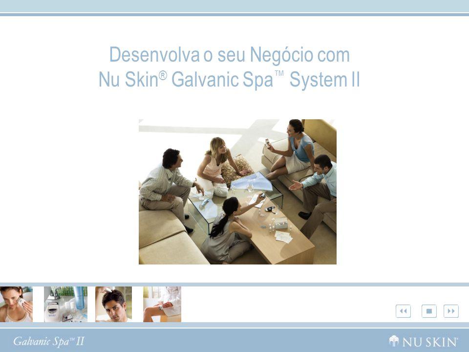 Desenvolva o seu Negócio com Nu Skin ® Galvanic Spa System II