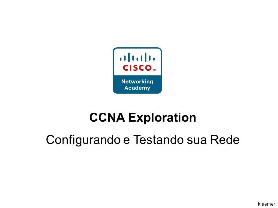 kraemer CCNA Exploration Configurando e Testando sua Rede