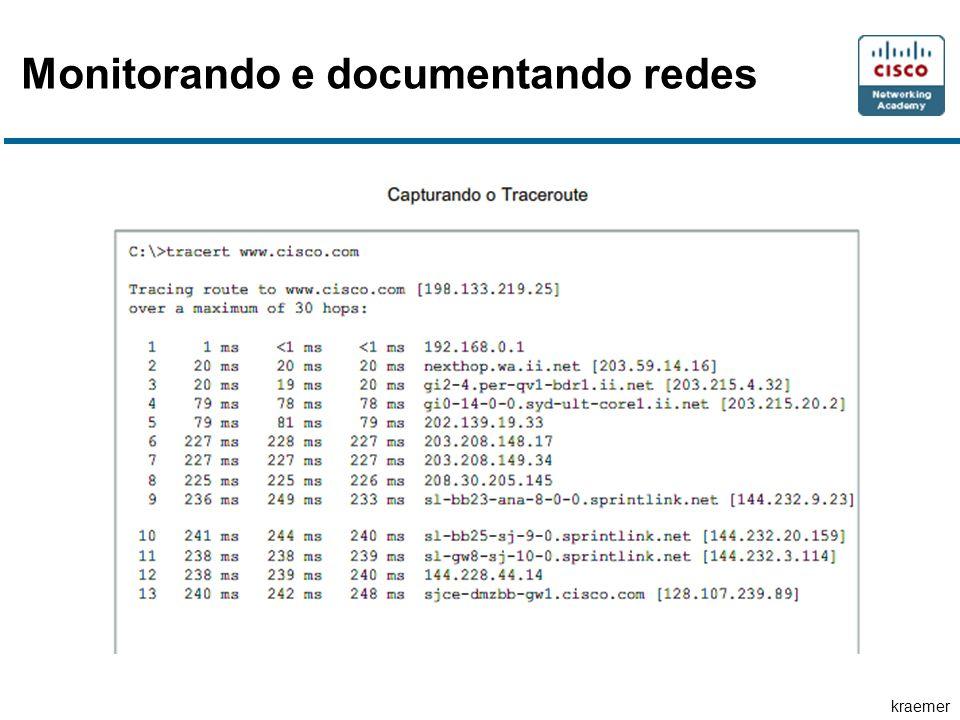 kraemer Monitorando e documentando redes
