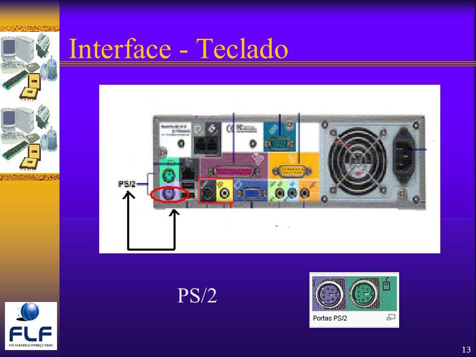 13 Interface - Teclado PS/2