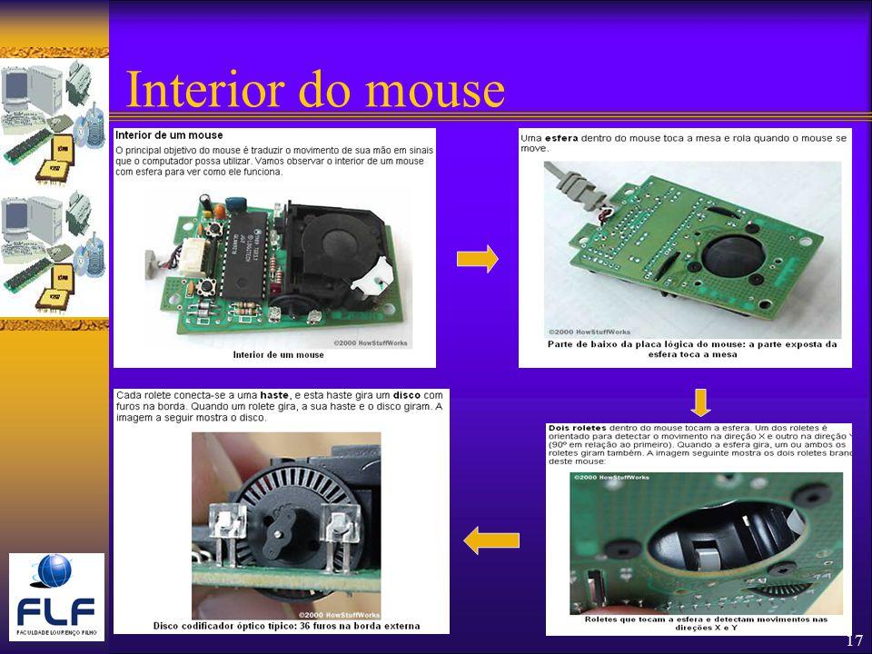 17 Interior do mouse