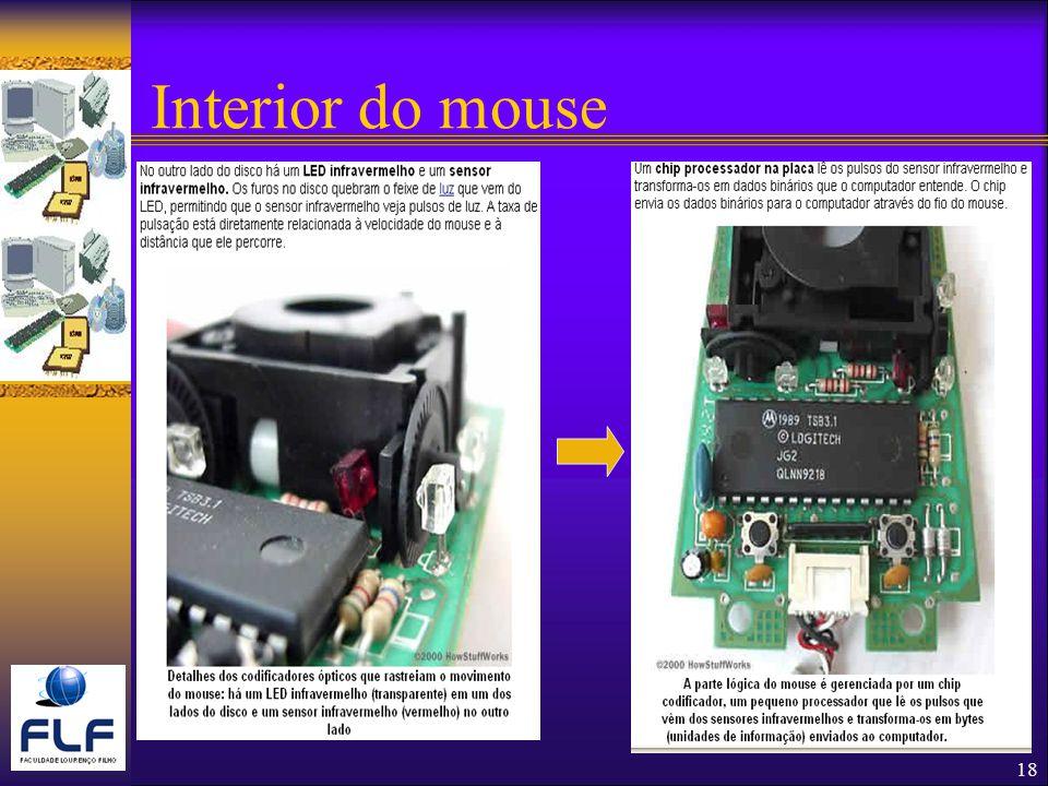 18 Interior do mouse