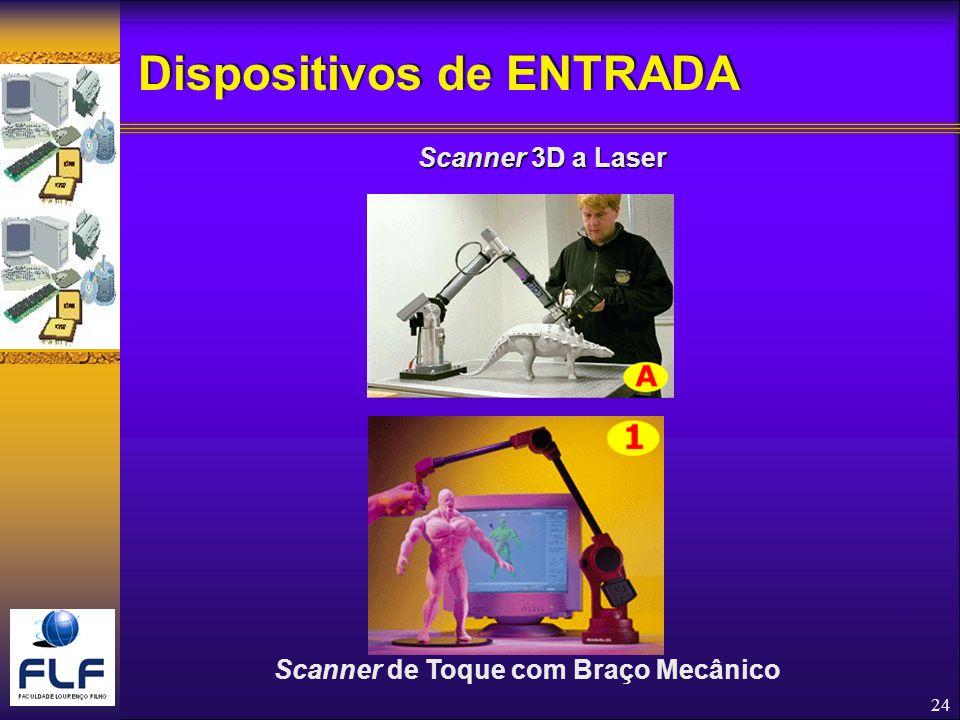 24 Scanner de Toque com Braço Mecânico Scanner 3D a Laser Dispositivos de ENTRADA