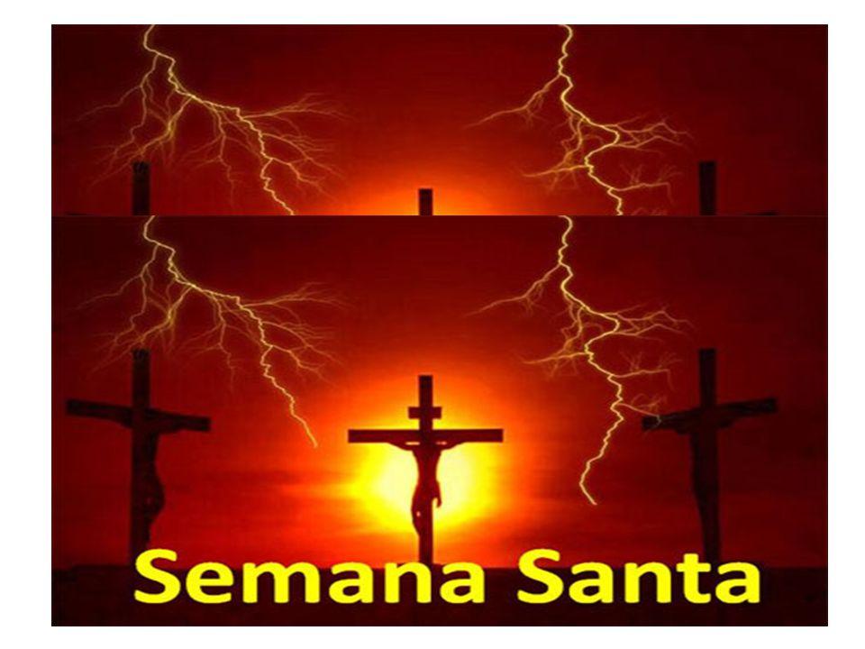 Com o Domingo de Ramos começamos a Semana Santa.