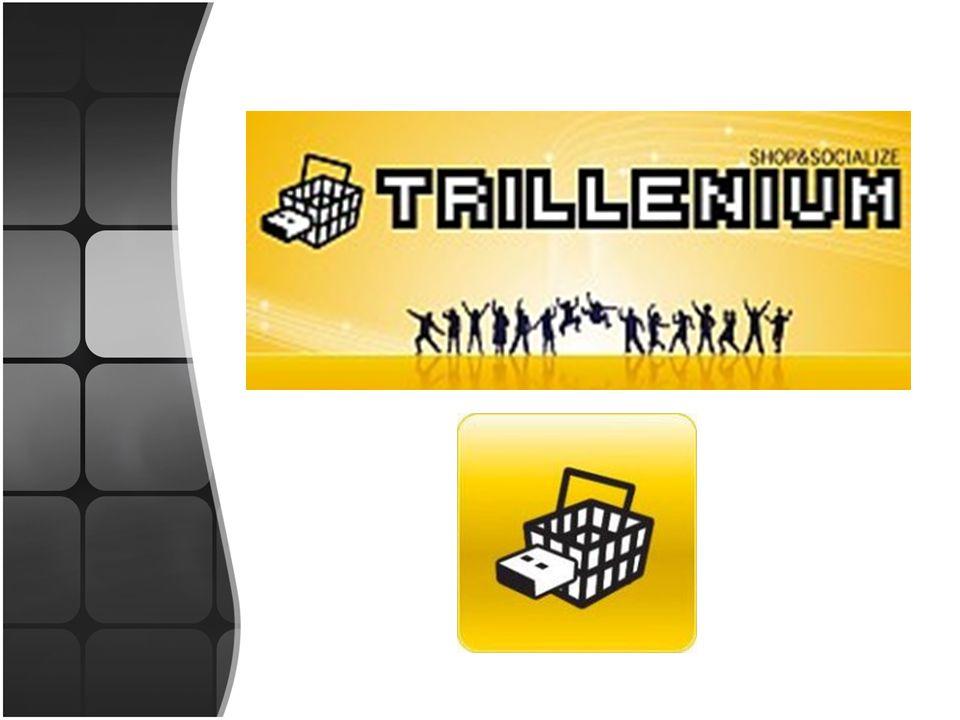 Trillenium Ambiente Virtual que permite criar um avatar, e que consiste em simular um centro comercial, permitindo ao utilizador passear num ambiente 3D em lojas e fazer as devidas compras.