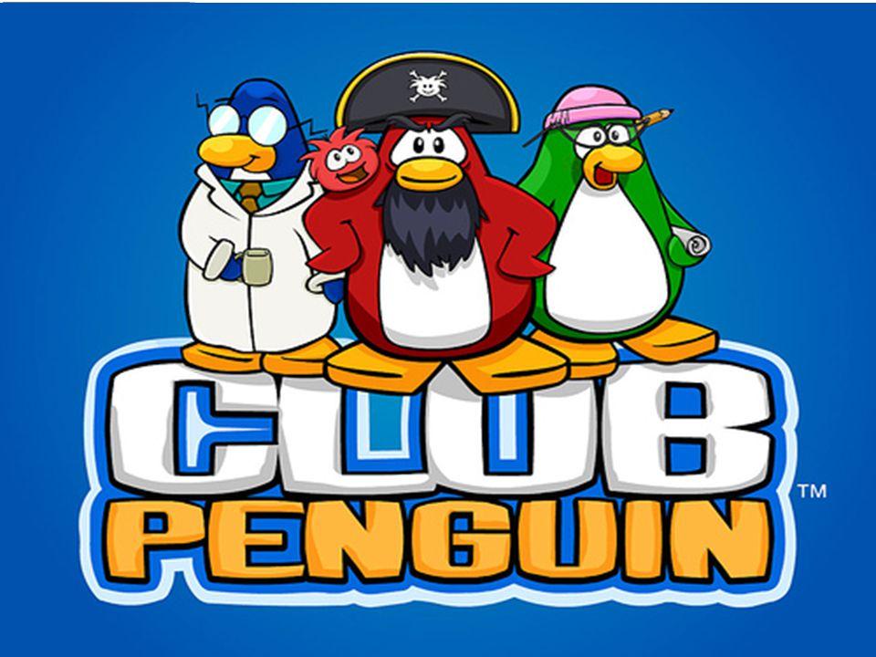 Disney Club Penguin Avatares de pinguins coloridos em que os jogadores podem explorar, se divertir com jogos e participar de outras actividades com seus amigos em um ambiente virtual.