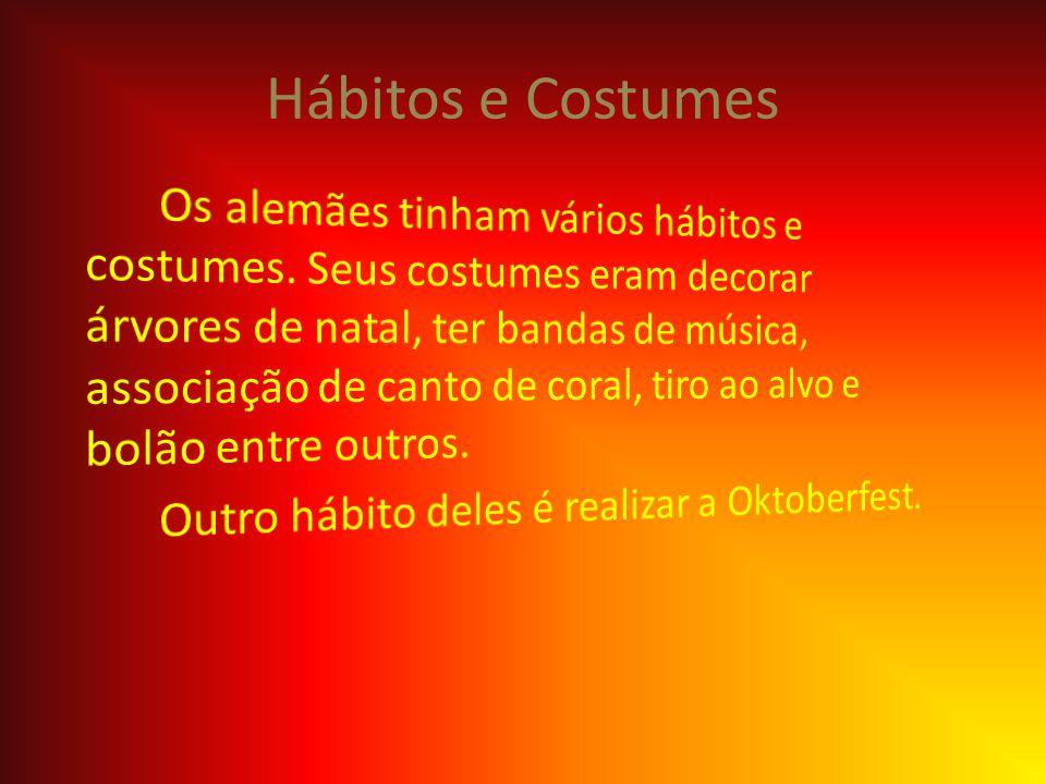 Hábitos e Costumes