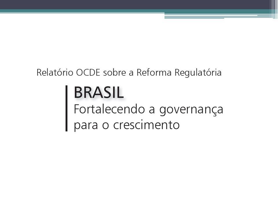 Se o Brasil ainda precisa pôr fim à diferença em relação aos países da OCDE, há uma necessidade de assegurar que as agências sejam colocadas para funcionar… Pag.