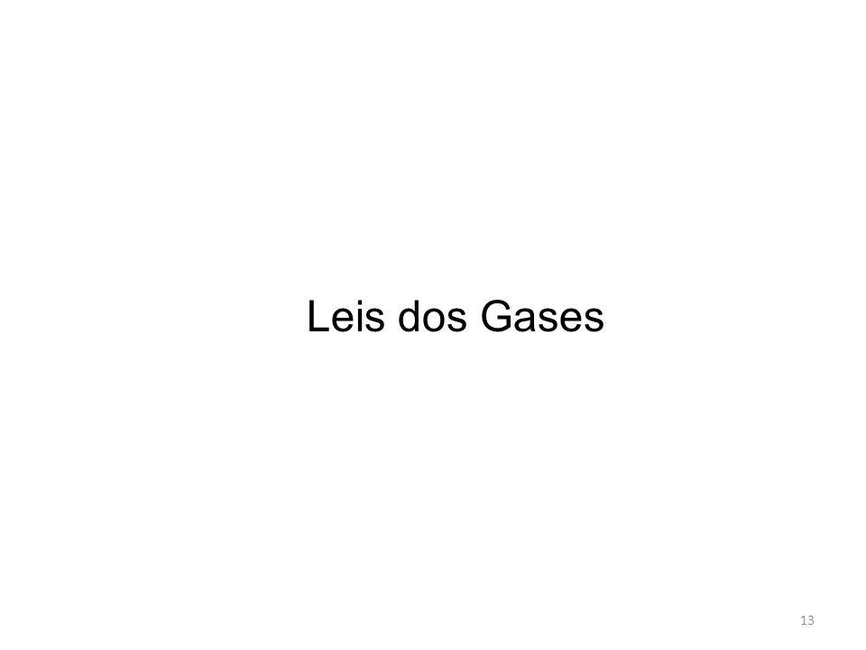 Leis dos Gases 13