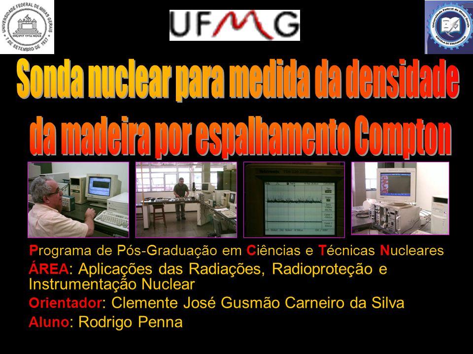 Rodrigo Penna 22 FONTES UTILIZADAS Amerício – 241 : energia de 60 keV.