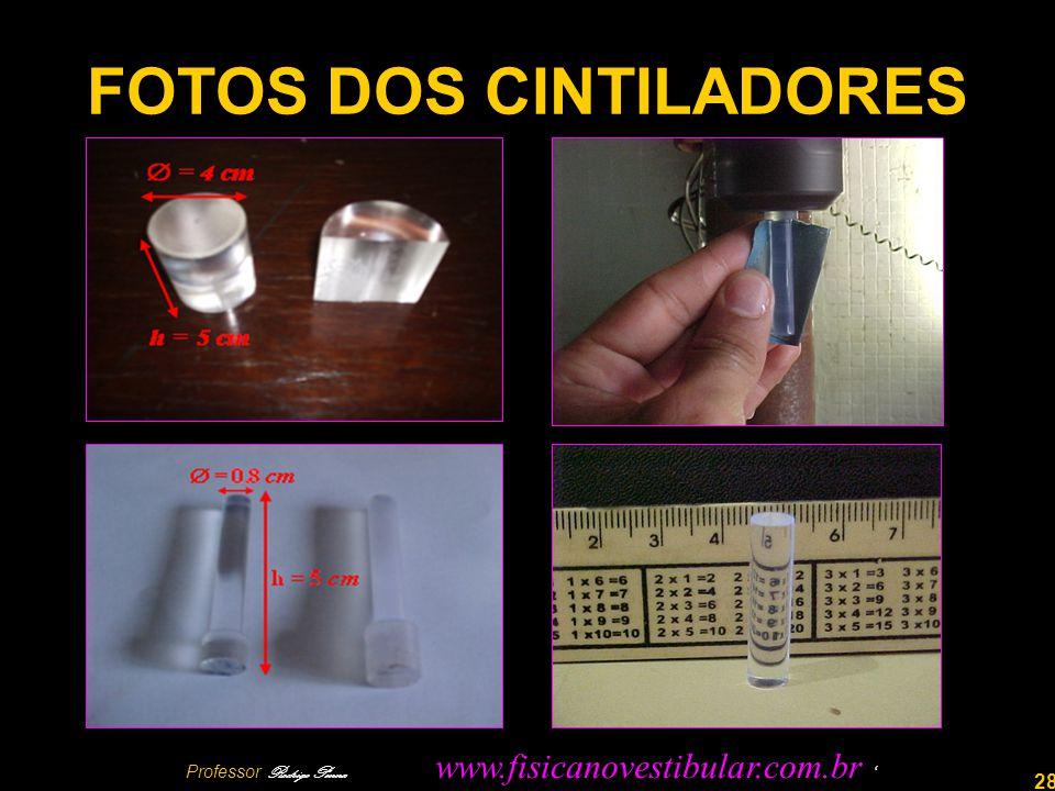 28 FOTOS DOS CINTILADORES Professor Rodrigo Penna www.fisicanovestibular.com.br
