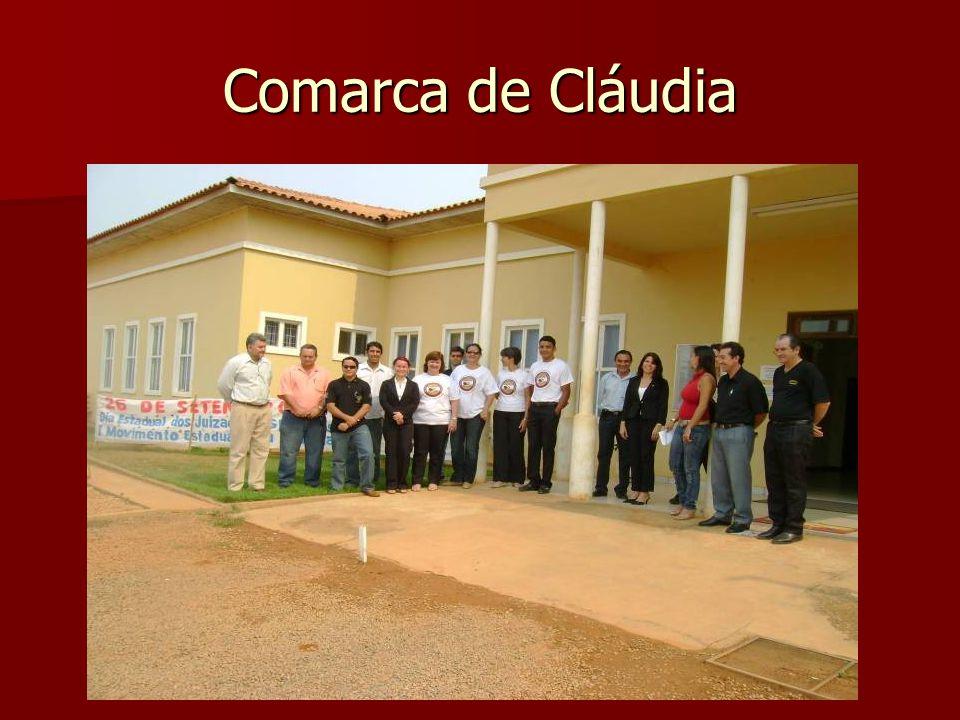 Comarca de Cláudia