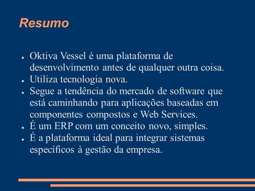 Oktiva Vessel é uma plataforma de desenvolvimento antes de qualquer outra coisa.
