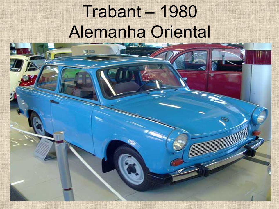 Trabant – 1980 Alemanha Oriental