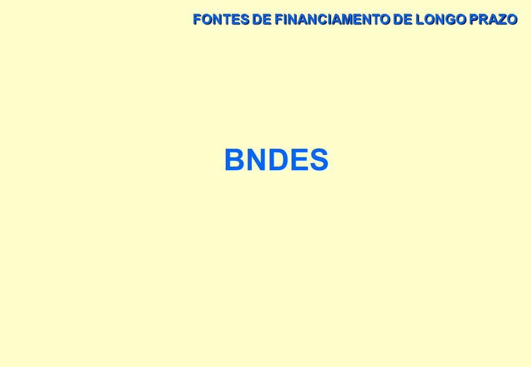 FONTES DE FINANCIAMENTO DE LONGO PRAZO O BANCO CENTRAL DO BRASIL - BACEN OUTRAS ATRIBUIÇÕES DO BANCO CENTRAL DO BRASIL C) NORMATIZAR AS OPERAÇÕES DO S