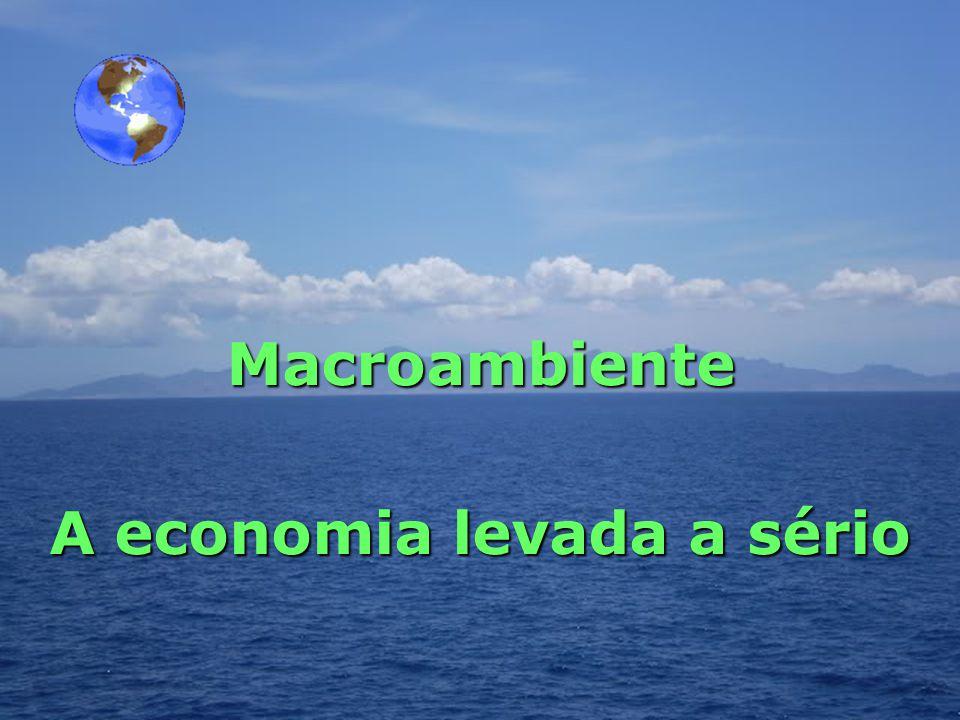 Macroambiente A economia levada a sério www.macroambiente.com.br