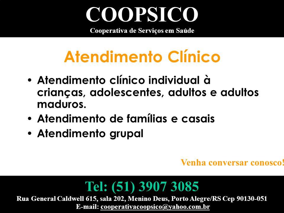Atendimento Clínico Atendimento clínico individual à crianças, adolescentes, adultos e adultos maduros. Atendimento de famílias e casais Atendimento g