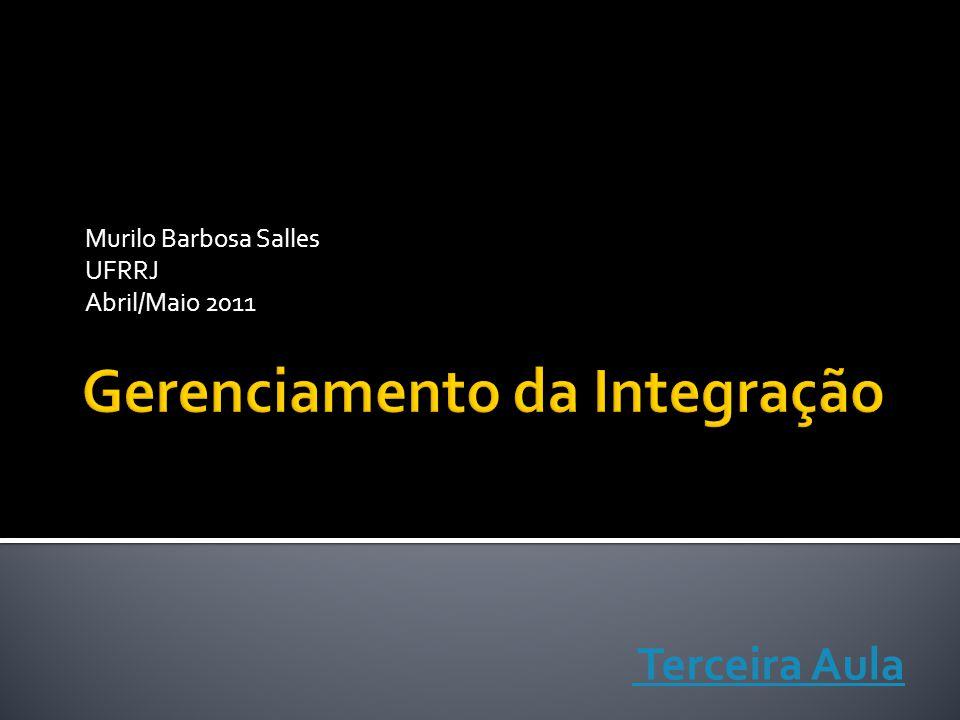 Murilo Barbosa Salles UFRRJ Abril/Maio 2011 Terceira Aula
