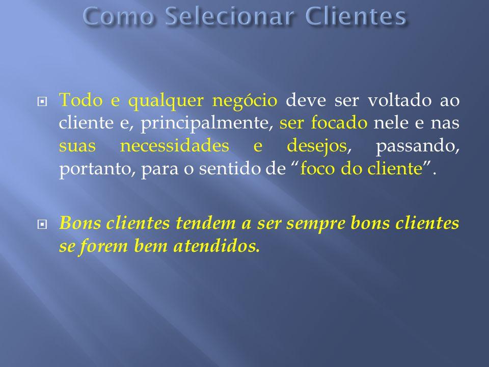 Todo e qualquer negócio deve ser voltado ao cliente e, principalmente, ser focado nele e nas suas necessidades e desejos, passando, portanto, para o s