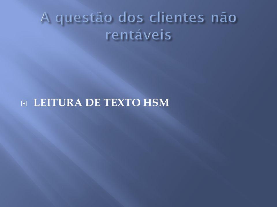 LEITURA DE TEXTO HSM