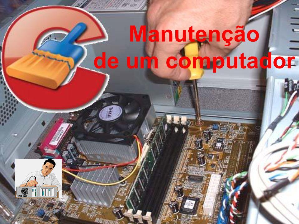 Manutenção de um computador