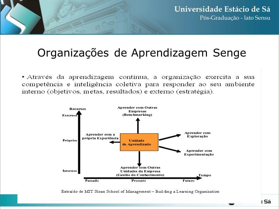 Organizações de Aprendizagem Senge