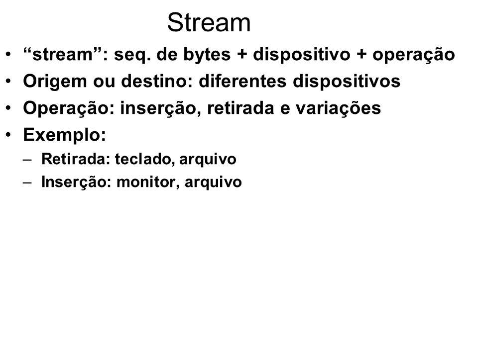 Stream stream: seq.